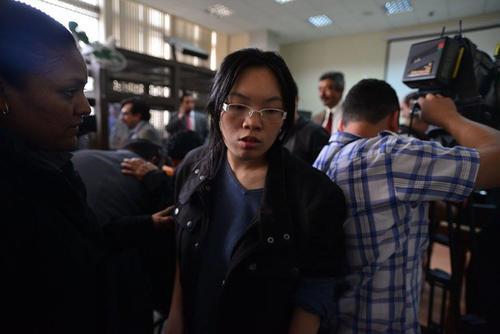 La comerciante Liyun Chen, de origen coreano. (Foto: Wilder López/Soy502)