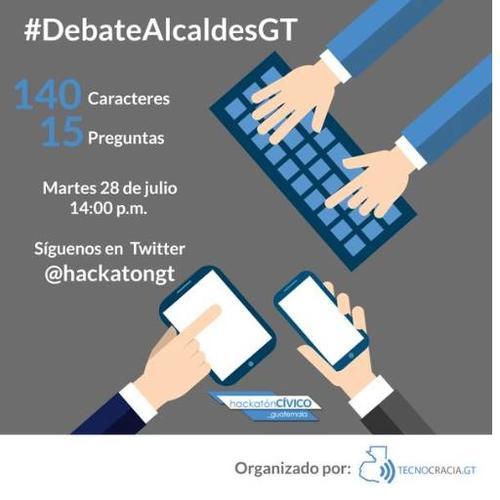El evento servirá para que los capitalinos cuestionen a los candidatos a la comuna capitalina y sus respectivos planes de gobierno.