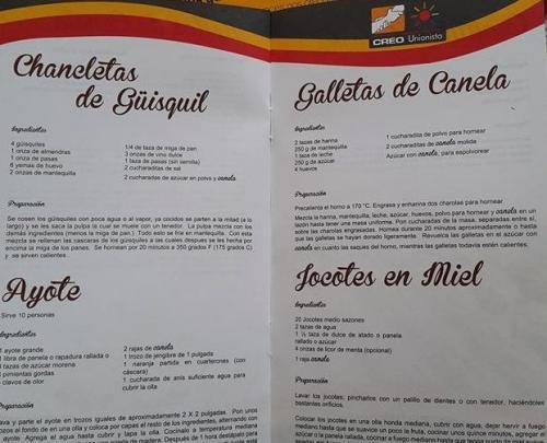 El candidato presidencial Roberto González regala libros de cocina en la zona 5 capitalina. (Foto: @labetsa)