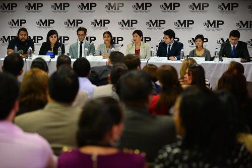 Los estudiantes universitarios hicieron un llamado a la población para realizar auditorías sociales. (Foto: Wilder López/Soy502)