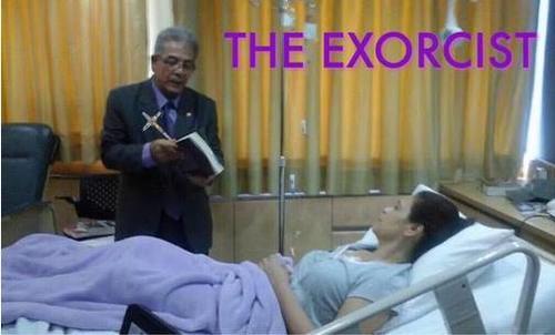 """La visita del juez Miguel Ángel Gálvez al hospital también fue motivo de """"memes""""."""