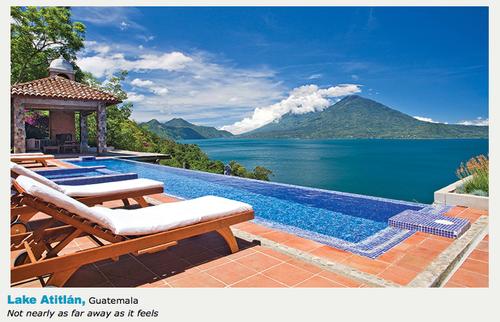 Los visitantes consideraron entre otros detalles, la vista que ofrece el hotel de Lago de Atitlán. (Foto: Casa Palopó)