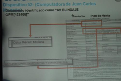 Los documentos fueron presentado ante el Juez Miguel Ángel Gálvez. (Foto Jesús Alfonso/Soy502)