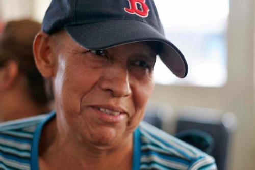 Doña Odilia fue diagnosticada con cáncer de matriz en noviembre pasado y recibe atención en el Incán. (Foto: José Dávila/Soy502)