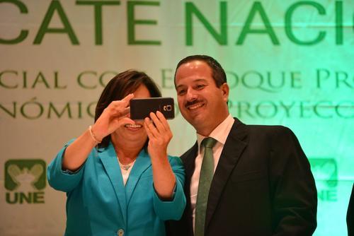 Torres y Leal se enfrentan al binomio de Jimmy Morales y Jafeth Cabrera. (Foto: Jesús Alfonso/Soy502)