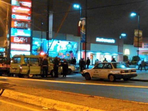 Los delincuentes que atacaron la subestación en la zona 6 de Mixco, fueron copados en el centro Comercial Plaza Florida, zona 19 de Guatemala. (Foto: Ministerio de Gobernación)