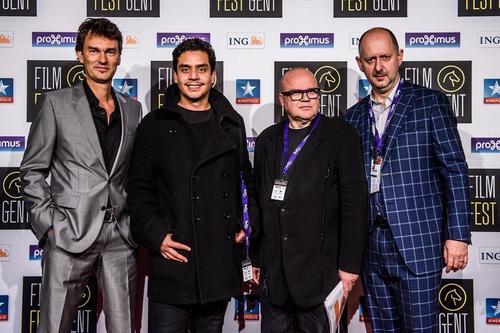 Jayro Bustamante, creador de Ixcanul en la premiación del Festival del Cine de Gante, Bélgica. (Foto: Ixcanul oficial)