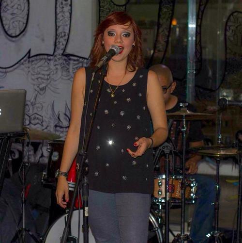 Sophie Monroy, cantautora guatemalteca. (Foto: Antonio Estrada)