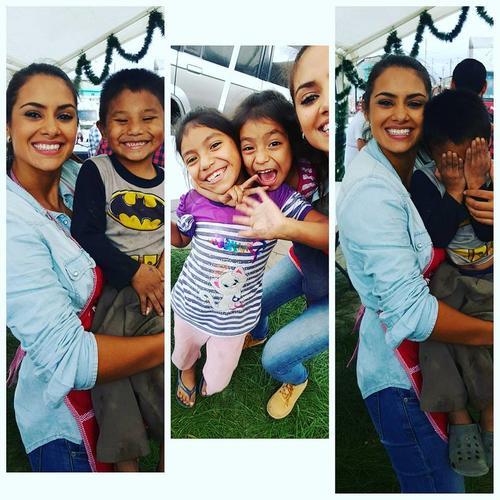 Jessica comparte con los niños de Passion Asociación. (Foto: Jessica Scheel oficial)