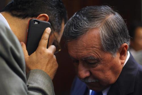 """El FCN respalda """"moralmente"""" a Ovalle, incluso fue designado como Secretario General del partido. (Foto: Alexis Batres/Soy502)"""
