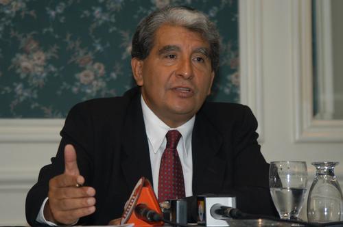 El exministro de Salud Francisco Arredondo fue el primer funcionario de la administración de Otto Pérez Molina en dejar su cargo. (Foto: Archivo/Soy502)