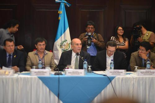 Los diputados le presentarán una propuesta de agenda legislativa al presidente Jimmy Morales. (Foto: Jesús Alfonso/Soy502)