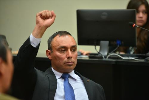 Lima, quien permanecía en prisión, también fue ligado a proceso en 2014 por los delitos de asociación ilícita, lavado de dinero, tráfico de influencias y uso de terminales móviles. (Foto Wilder López/Soy502)