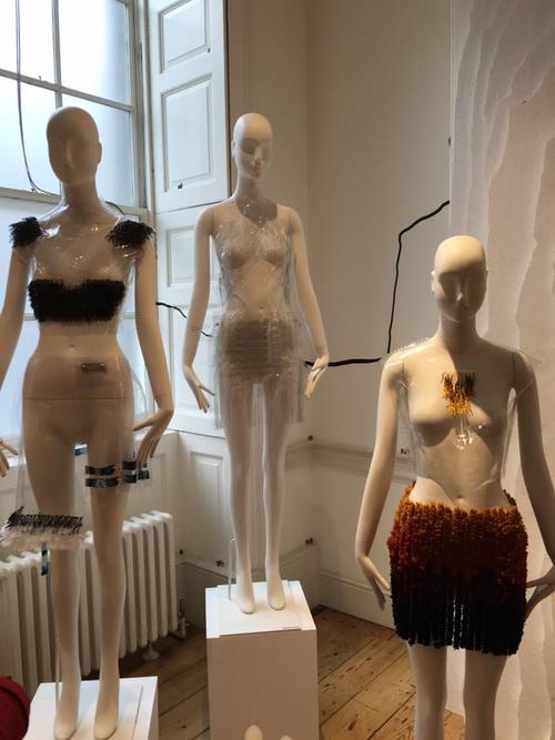 Las piezas guatemaltecas llamaron la atención en el London Fashion Week. (Foto: Patty Cruz-Fouchard)