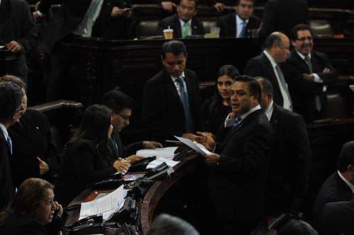 El FCN continuará el análisis de las reformas a la Ley Orgánica del Ministerio Público para presentar nuevas enmiendas en la sesión del martes. (Foto: Alejandro Balán/Soy502)