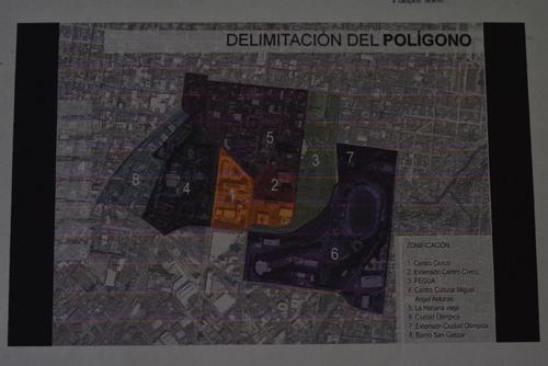 Docomomo señala ocho áreas afectadas de la zona 1. (Foto: Jesús Alfonso/Soy502)