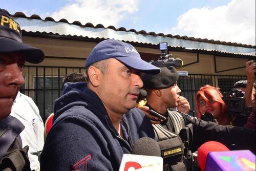 Mario Baldetti, hermano de la exvicepresidenta, Roxana Baldetti, permanece en prisión preventiva desde el 23 de febrero, al igual que los otros 13 implicados. (Foto Jesús Alfonso/Soy502)
