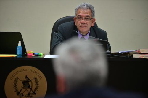 Trujillo fue el único implicado que declaró este 23 de febrero ante el juez Miguel Ángel Gálvez. (Foto Wilder López/Soy502)