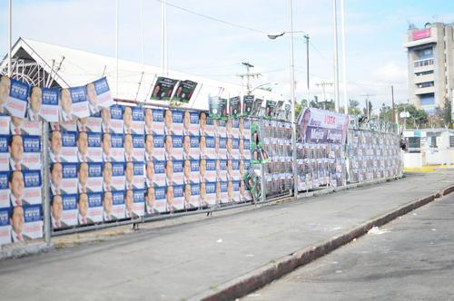 Masiva campaña para conseguir votos en el proceso electoral. (Foto: Alejandro Balán/Soy502)