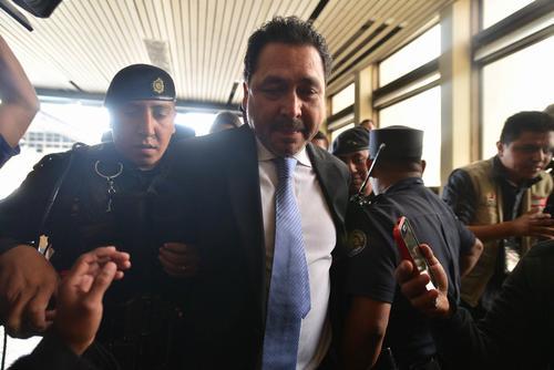 Gudy Rivera es vinculado a un caso de tráfico de influencias para intentar beneficiar a la exvicepresidenta Roxana Baldetti con una resolución judicial. (Foto: Wilder López/Soy502)