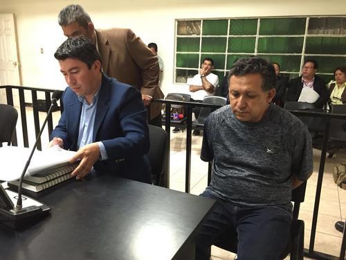 El profesor Gustavo Ascencio Mejicanos es señalado como presunto responsable de la muerte del alumno del Liceo Javier, Alexander Aldana. (Foto: Jesús Alfonso/Soy502)