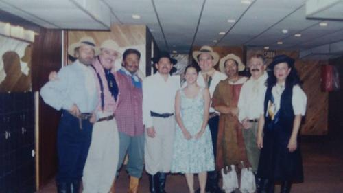 Javier Pachecho actuaó en múltiples puestas en escena. (Foto: Alejandro Boteo)