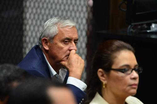 Otto Pérez y Baldetti podrían enfrentar juicio por delitos como fraude, asociación ilícita, cohecho y lavado de dinero. (Foto: Archivo/Soy502)