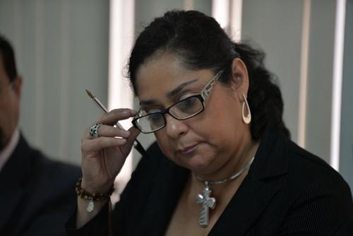 Jisela Reinoso habría favorecido a varios sindicados según un informe de la Supervisión de Tribunales. (Foto: Wilder López/Soy502)