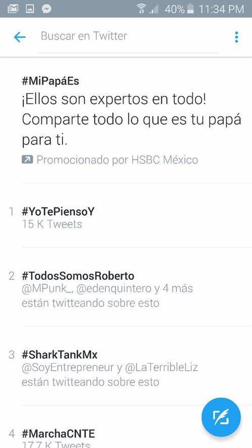 El hashtag #TodosSomosRoberto se volvió por unas horas tendencia. (Foto: Twitter)