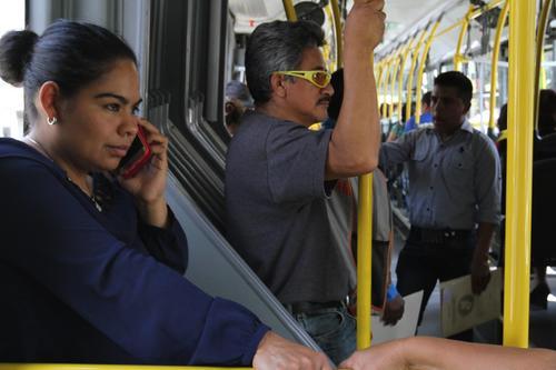 Los pasajeros podrán ahorrar tiempo con la implementación del servicio directo de Transmetro. (Foto: Municipalidad de Guatemala)