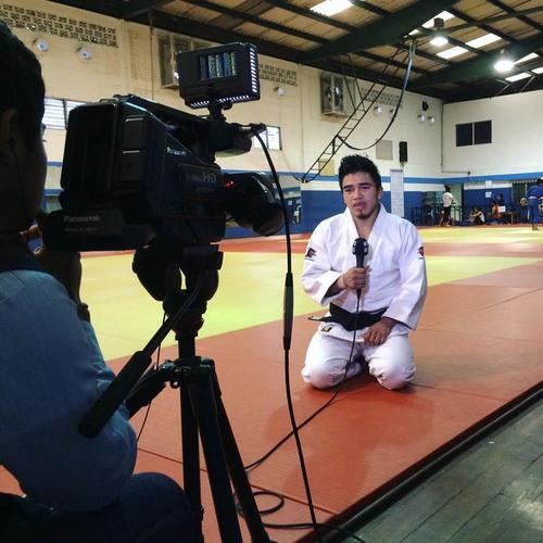 José Ramos estará en Río 2016, será el único representante del judo guatemalteco. (Foto: Facebook)