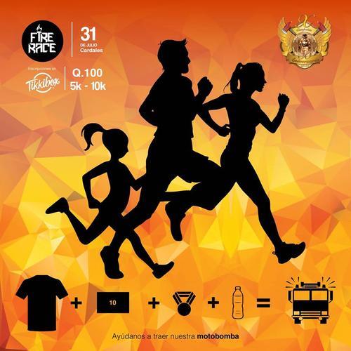 La carrera contará con dos categorías: 5K para hombres, mujeres y niños y 10 para hombres y mujeres.