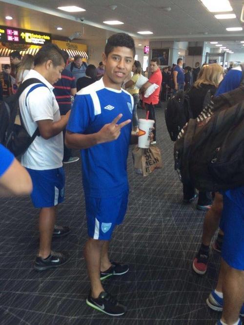 El goleador Pedro Altán se estabilizó tras el golpe en la cabeza que recibió durante el juego entre Guatemala y Nicaragua. (Foto: Delegado de ACD)