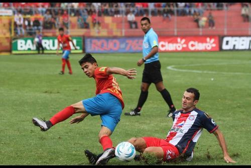 Jhon Méndez es el juvenil de Municipal que más minutos suma en el Torneo Apertura 2016, con un total de 1,363. (Foto: Archivo/Soy502)