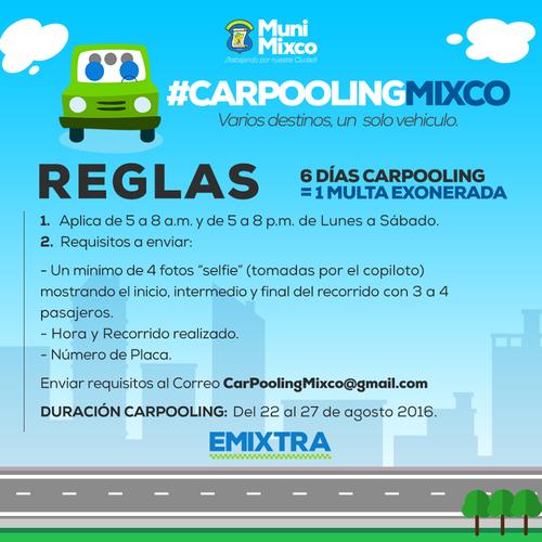 Si sigues estás reglas, podrás ser exonerado de una multa por las autoridades de tránsito de Mixco.