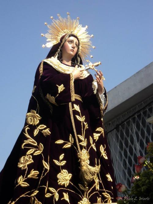 La Santísima Virgen de Dolores de la iglesia de Santa Teresa. (Foto: Iglesia Santa Teresa/Juan Pablo Lima Iriarte)