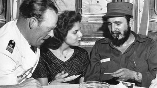 """La historia entre Marita Lorenz y  Fidel Castro se contará en """"Marita""""."""