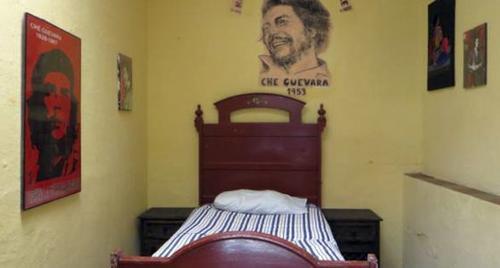 La habitación que tuvo el Che en Guatemala es la más económica de toda la pensión. (Foto: El País)