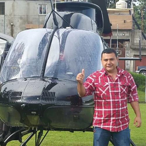 Marlon Cifuentes ya fue inscrito como candidato a la Alcaldía de Santa Lucía Milpas Altas. (Foto Facebook Marlon Cifuentes)