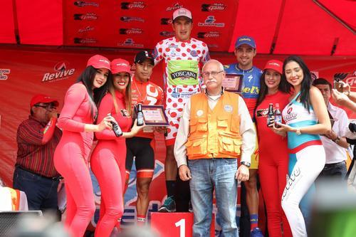 Jefferson Cepeda de Ecuador, el campeón de montaña. (Foto: Alejandro Balán/Soy502)