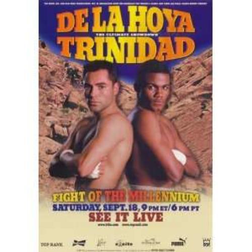 De la Hoya y Tito Trinidad fueron protagonistas de grandes batallas sobre el cuadrilátero.