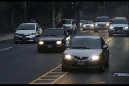 A partir de las primeras horas de la mañana se sentirá el impacto vial en las principales rutas de la ciudad. (Foto: Soy502)