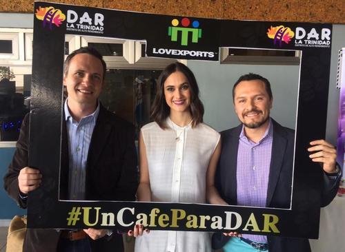 Chris Cocran y Julio Sagastume, fundadores de Lovexports Coffee Co. (Foto: oficial)