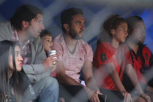 Carlos Kamiani vio el partido desde la grada después de su expulsión en la ida. En la gran final estará sin problema. (Foto: Fredy Hernández/Soy502)