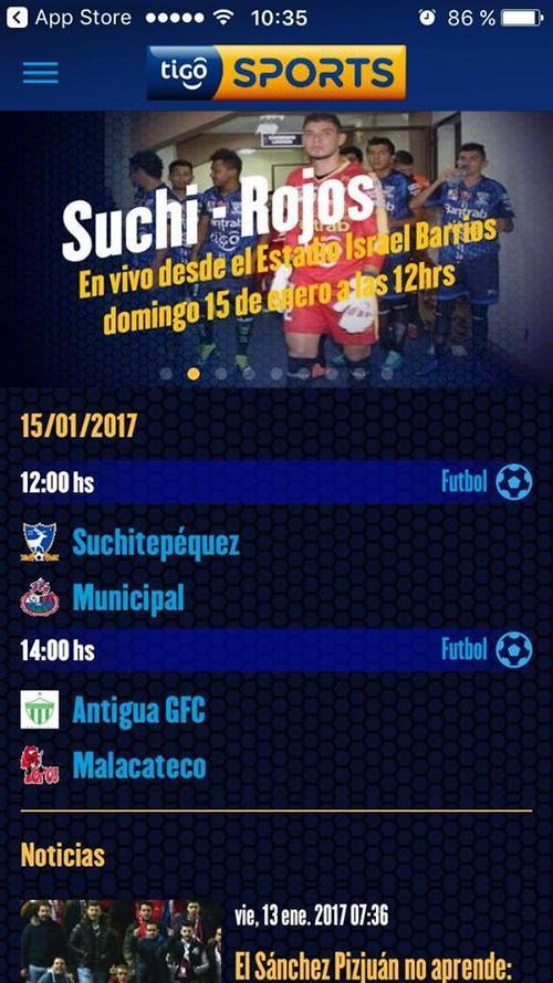 Esta es la programación para la primera jornada del Torneo Clausura 2017.