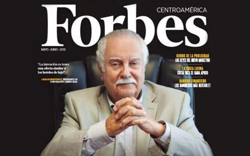 La revista Forbes dedicó su portada al empresario hotelero. (Foto: Archivo)