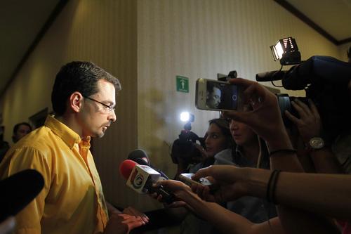 José María Villalta, abogado y ambientalista, encabeza una coalición de izquierda. (Foto: EFE)