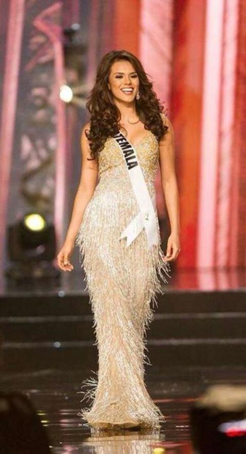 Miss Guatemala en la gala de MIss Universo. (Foto: oficial)