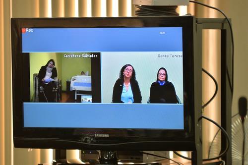 Roxana Baldetti, presenció por videoconferencia las audiencias por el caso Lago de Amatitlán. (Foto: Archivo/Soy502)