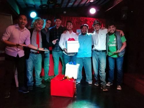 Algunos de los integrantes de la agrupación Impronunciables. (Foto: Impronunciables Impro Teatral Guatemala)